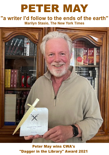 Latest News from Peter May, Scottish author of The Lewis