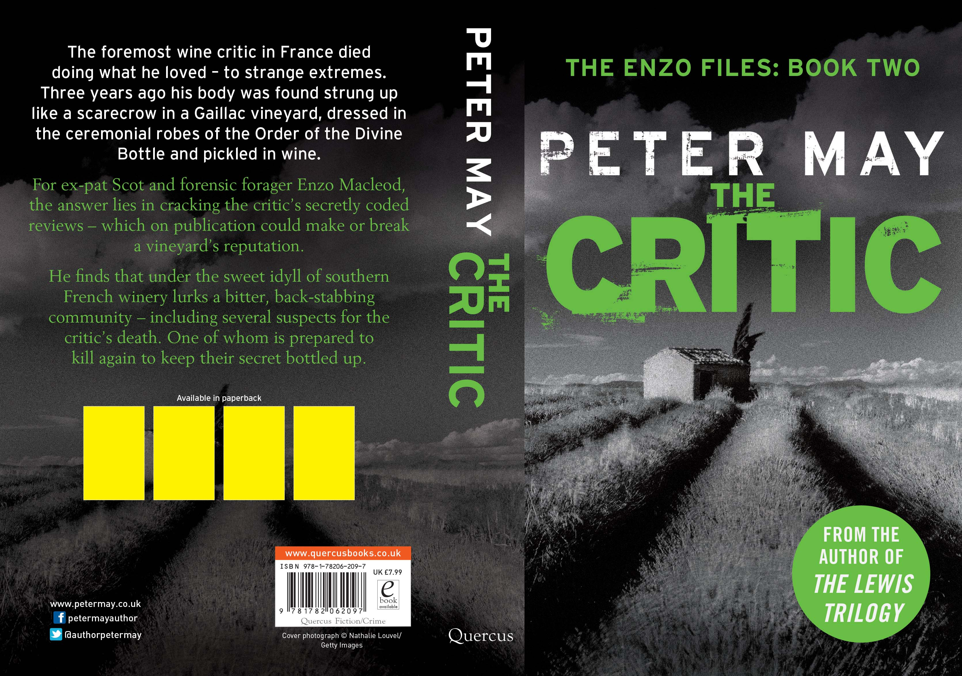 Latest News From Peter May, Scottish Author Of The Lewis Trilogy,  Screenwriter And Drama Producer